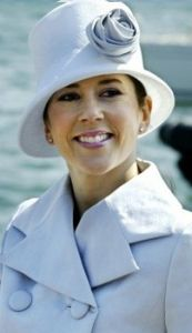 Crown Princess Mary of Denmark, May 5, 2004 in Susanne Juul | Royal Hats...Stovepipe hat