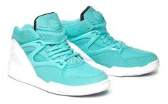 the latest 71719 305f1 REEBOK PUMP Tiffany Blue Box, Nike Huarache, Foams Sneakers, Adidas  Sneakers, Sea