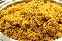Spanish rice recipe food food food
