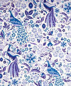 Liberty Art Fabrics Juno's Garden D Tana Lawn   New Season Fabric by Liberty Art Fabrics   Liberty.co.uk