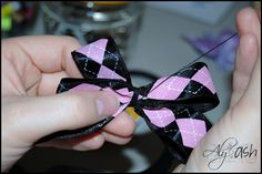 how to make girly bows