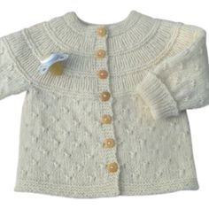 Ravelry: Project Gallery for Antler Cardigan pattern by tincanknits Baby Knitting Patterns, Knitting For Kids, Baby Patterns, Baby Cardigan, Cardigan Pattern, Girls Sweaters, Baby Sweaters, Cardigans, Drops Baby