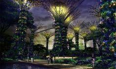 """Super-bomen"" op zonne-energie in Singapore - Change Magazine"