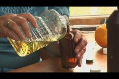 Video: DIY sage essential oil. Sage oil can have a sedative effect in high doses, so it's important to check with an aromatherapist before attempting to make sage oil. Infuse the scent of sage into vegetable oil in a dark bottle with help from the creator of a line of aromatherapy products in this free video on making sage oil.  Read more : http://www.ehow.com/video_5113672_make-sage-oil.html?cp=1&wa%5Fvlsrc=continuous&wa%5Fvrid=adb5dfba%2D0957%2D46cd%2Db7b0%2Dd1beb923583a&pid=1
