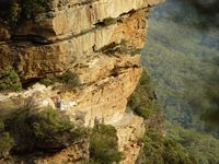 List of the most Popular Blue Mountains Bushwalks (including grading of walks easy to hard)