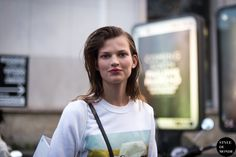 New post on http://www.styledumonde.com with #Dutch Dutch model #model Bette Franke #BetteFranke @Bette_Franke after #PaulandJoe #ss14 #fashionshow at #parisfashionweek #pfw #pfwss14... #outfit #ootd street style  streetstyle #streetstyle #streetfashion #streetchic model off duty #modeloffduty #fashion #mode #style #Paris #weloveit #picoftheday  #bestoftheday #lookoftheday. Photo by #styledumonde