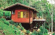 A sua casa no Guaribu.