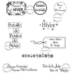 Junk Journal, Bullet Journal, Illustration Noel, December Daily, Scrapbook Albums, Word Art, Planner Stickers, Mini Albums, Printables