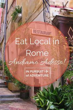 Eat Local in Rome
