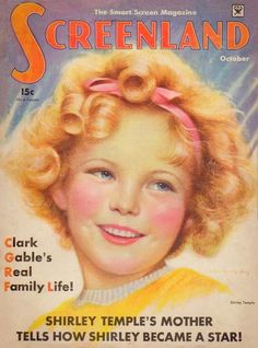Shirley Temple - Screenland - October, 1934