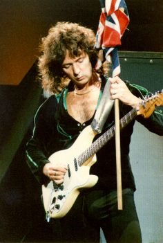 Ritchie Blackmore and his Stratocaster
