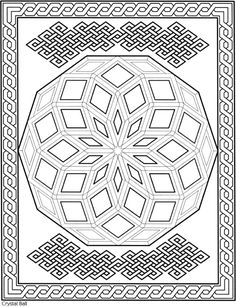 Dover Sampler - Creative Haven Mesmerizing Mandalas Coloring Book