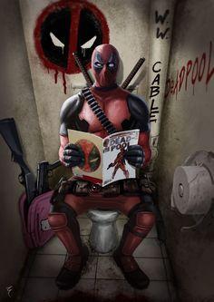 Deadpool , El Morador de Sueños on ArtStation at https://www.artstation.com/artwork/KyOOX