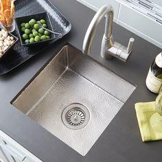 "Cantina Copper Kichen Sink   Native TrailsOutside Dimensions: 15"" x 15"" x 7.5"" Inside Dimensions: 13"" x 13"" x 7"""