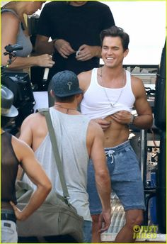 Matt Bomer Magic Mike XXL~how come men like Matt Bomer are born???HOW???He is perfect...ly gay DAM' it!!!