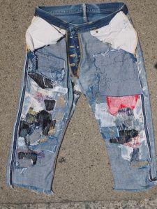 031461c6c140 Denim Repairs 3 Boro Stitching, Old Jeans, Denim Jeans, Patched Denim,  Sashiko