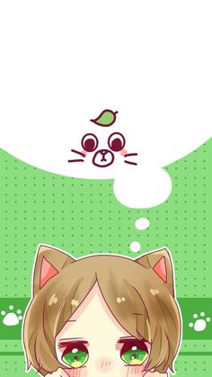 This is Uratanuki Anime Chat, Cute Anime Chibi, Kawaii Chibi, Anime Neko, Kawaii Art, Kawaii Anime, Anime Guys, Manga Anime, Vocaloid