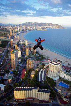 Get your adrenaline rush in #Benidorm