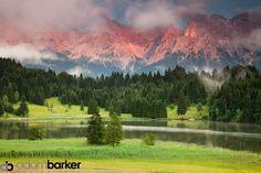 Barvarian Alps near Garmisch-Partenkirchen, Germany