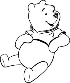 Nice Just Winnie The Pooh Coloring Page