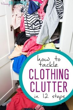 how to tackle clothing clutter and closet organization ideas! organization Tackling Clothing Clutter: Confessions of a Clothes Hoarder Organisation Hacks, Clutter Organization, Clothing Organization, Clothes Storage, Bedroom Organization, Clothes Organisation Ideas, Storing Clothes, Household Organization, Clutter Control