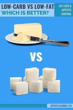 Low-carb vs low-fat ... which is the best diet? Which is better for appetite control? Mood? Blood sugars? And which is the worst diet? Reduce Appetite, Appetite Control, Calorie Counting Diet, High Carb Diet, Butter Crackers, Low Fat Diets, No Sugar Foods, Best Diets, Cravings