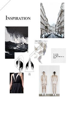 Inspiration Mood Board  Fashion and art inspiration