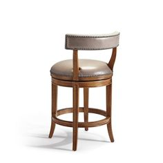 Henning Low Back Counter Height Bar Stool