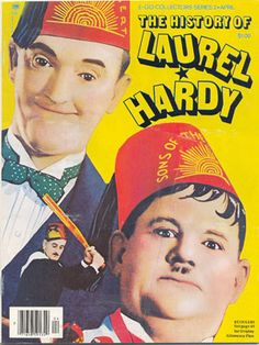 The History of Laurel and Hardy magazine