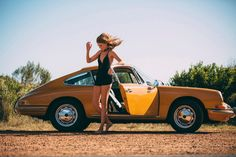 Vintage Porsche + Gorgeous Model = One Hell Of A Photo Set - Airows