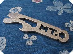 MT.O Prybar Tool 3mm 3d printed from shapeways
