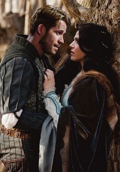 Awesome Regina and Robin (Lana and Sean) Once S4