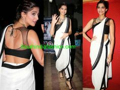 Dhoti Saree Celebrity Sarees, Designer Sarees, Bridal Sarees, Latest Blouse Designs 2014 South India Fashion