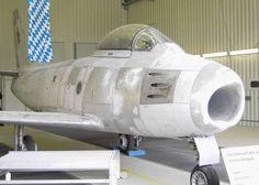 Canadair CL-13A-5 - F-86 Sabre. ex YA-005 / BB-112. Erding Open Day 2006.