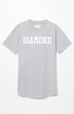 Diamond Center Scallop T-Shirt