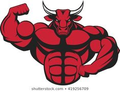 Find Vector Illustration Strong Bull Big Biceps stock images in HD and millions of other royalty-free stock photos, illustrations and vectors in the Shutterstock collection. Bulldogge Tattoo, Dream Daddy Fanart, Gorilla Tattoo, Eagle Mascot, Bull Tattoos, Logo Desing, Big Biceps, Anatomy Drawing, Monster Art