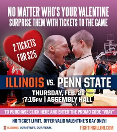 """Unfortunately, as Deadspin accurately noted earlier, it probably wasn't the wisest choice to pair that photo with the Valentine's Day slogan, """"No matter who's your valentine, surprise them with tickets to the game."""" And it definitely wasn't the wisest choice to go that route when the opponent for the game in question is a school still recovering from a child sex abuse scandal that resulted in the resignation of its president and the firing of its athletic director and legendary football…"""
