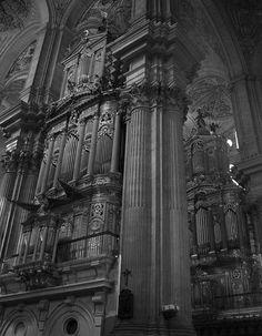 Òrganos de la Catedral de Málaga construidos por Julián de la Orden.