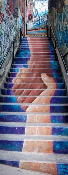 Stairs Art   Calle Urriola   #Valparaíso Stair Art, Street Art, Stairs, Urban, Art Nature, Photography, Photos, Stairway, Countries