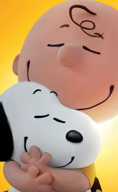 Cute wallpaper Charlie Brown and Snoopy!