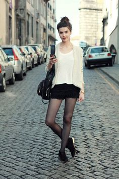 shorts with tights - Buscar con Google
