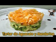 Tartar de aguacate y mandarina, Receta Petitchef