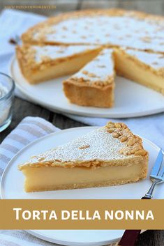 Cake Recipes, Dessert Recipes, Pasta Recipes, Shortcrust Pastry, Food Cakes, Cookies Et Biscuits, Eating Habits, Easy Desserts, All You Need Is