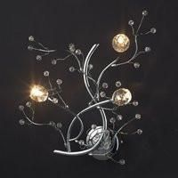 Tomia Crystal Chandeliers N 2250/03/300 chrome Nature Collection Myla Contemporary Wall Sconce