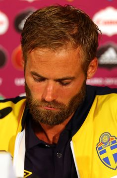 Olof Mellberg Photos: Post-Match Press Conferences - Sweden v England, Group D: UEFA EURO 2012