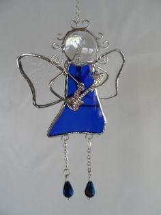 We were running short of Faries, and had to restock. This is a Rock Star Fairy - $20.00 at Jitter Beans in Mineral Wells, Tx