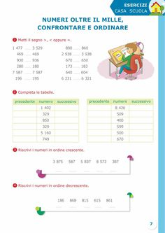 Sussidiario semplice 4 - Matematica Map, Teaching, Chart, Location Map, Maps, Education, Onderwijs, Learning, Tutorials