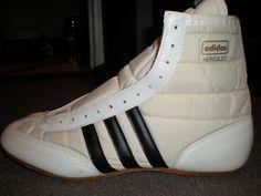 Vintage ADIDAS High Top Shoes 70 s Hercules Freddie Mercury ... f45e566a7