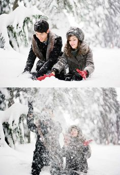 snow, engagement, winter, portrait, fine art wedding, fine art photography, nadia hung photography, film photography, contax 645,
