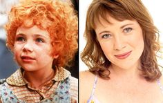 Aileen Quinn as Annie, left, and Aileen Quinn now (Photo: Sony Pictures) Little Annie is all grown up